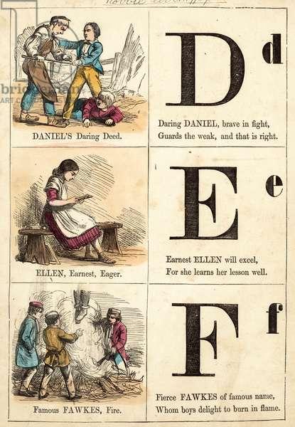 Picture Alphabet (colour litho)