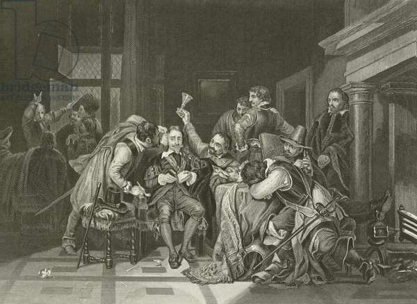Charles the First in the Guard Room (engraving)