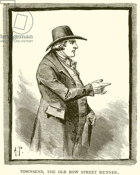 Townsend, the Old Bow Street Runner (engraving)