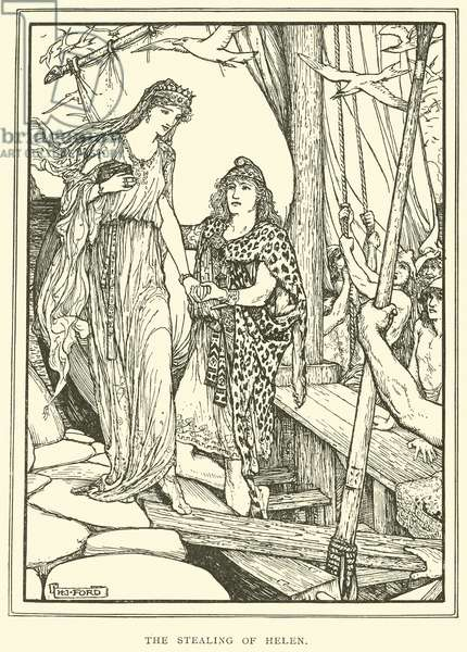 The Stealing of Helen (engraving)