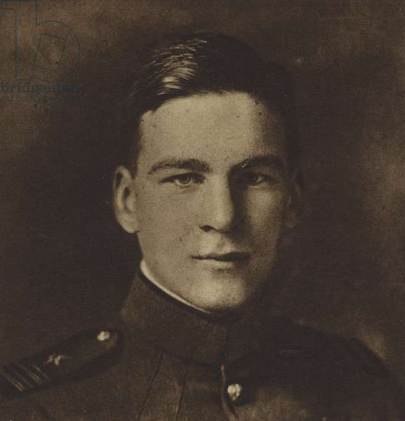 America in World War I: Lieutenant David Sinton Ingalls, Ace of Aces (b/w photo)