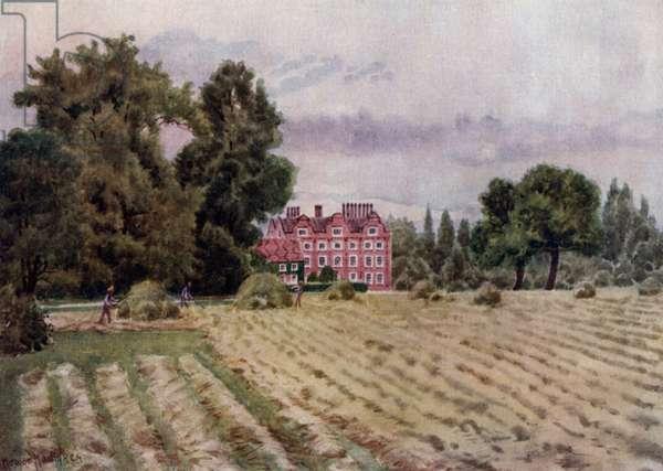 Kew Gardens: The Palace (colour litho)