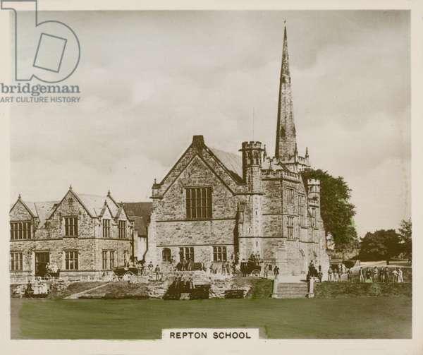 Repton School (coloured photo)