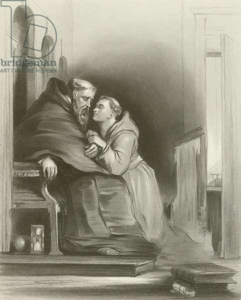Scene at Toledo (engraving)