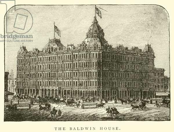 The Baldwin House (engraving)