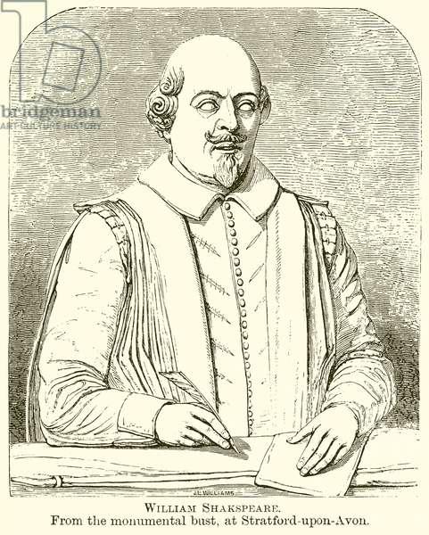William Shakespeare (engraving)