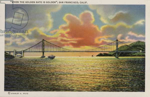 California: San Francisco, Golden Gate Bridge (photo)