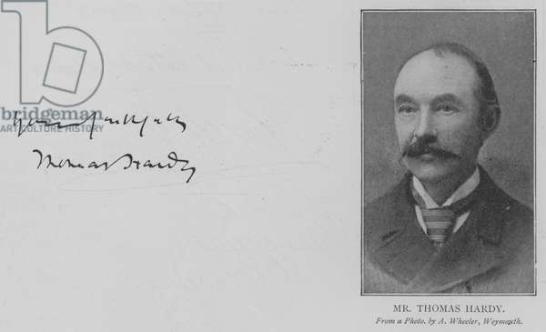 Mr Thomas Hardy (engraving)