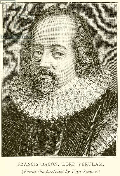 Francis Bacon, Lord Verulam (engraving)