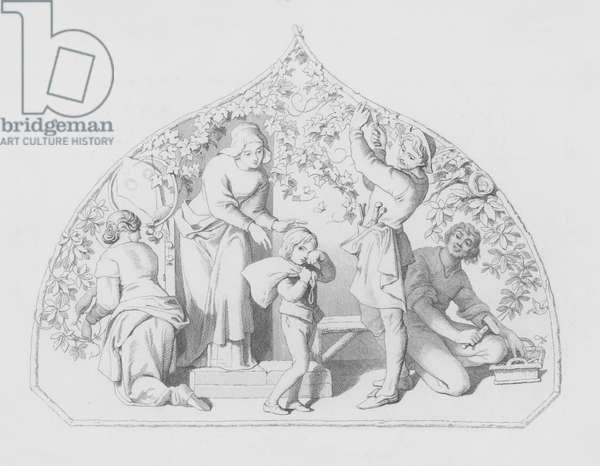 Shakespeare, The School-Boy (engraving)