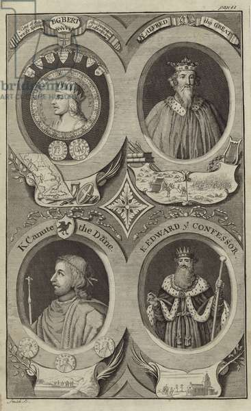 Portraits of Kings of England (engraving)