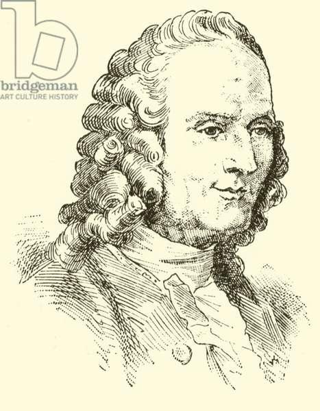 Jean Philippe Rameau, 1683-1764 (engraving)