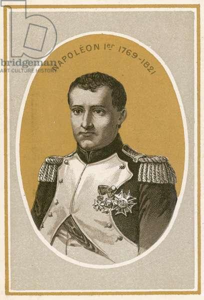Napoleon 1er (colour litho)