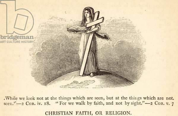 Christian Faith, or Religion (engraving)