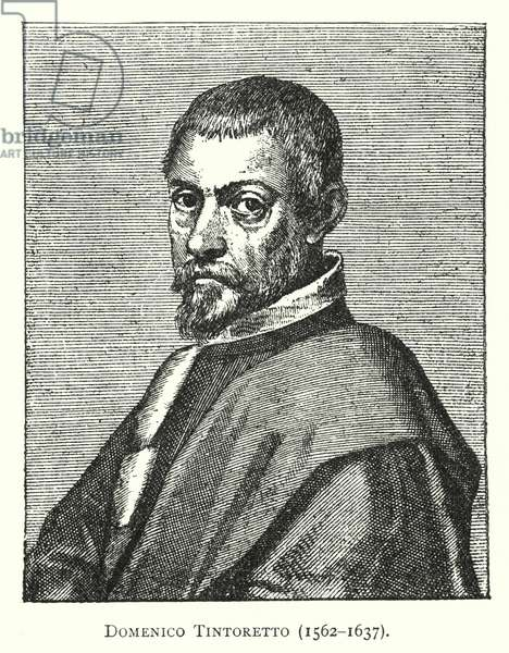 Domenico Tintoretto, 1562-1637 (engraving)