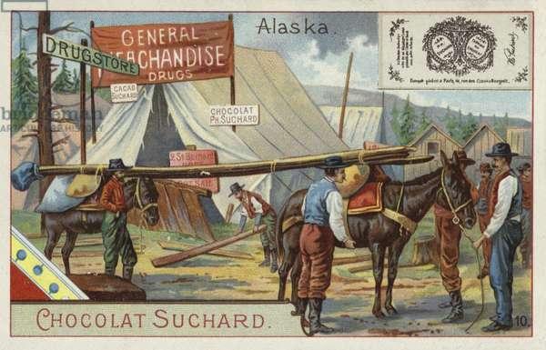Alaska (chromolitho)