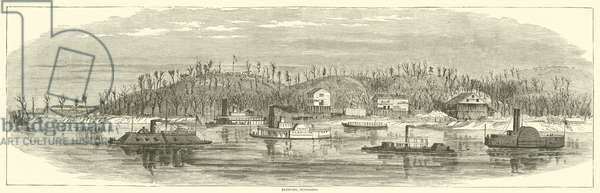 Eastport, Tennessee, December 1864 (engraving)