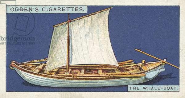 Whaling, The Whale-Boat (chromolitho)