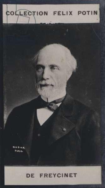 Charles de Saulce de Freycinet (1828) (b/w photo)