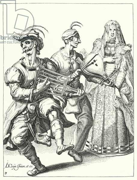 Masquerade (engraving)