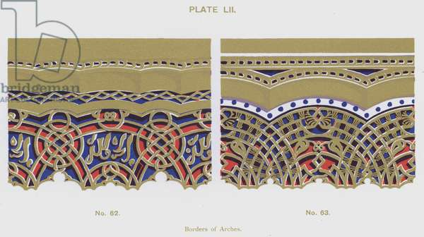 Borders of Arches (colour litho)