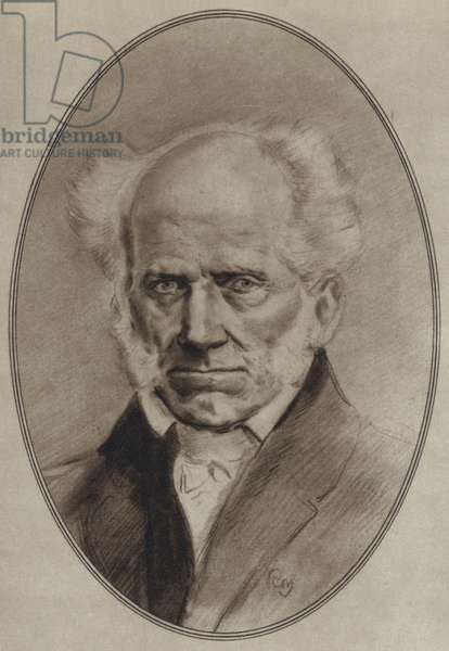 Portraits of Great Philosophers: Schopenhauer (litho)