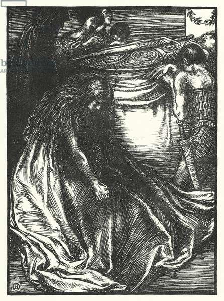 Matthew Arnold poem: Balder Dead (engraving)