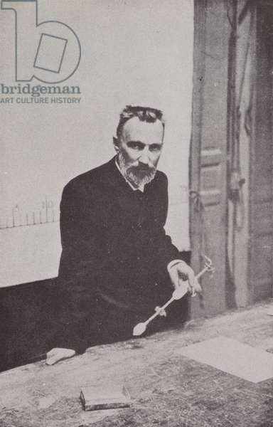 Pierre Curie (b/w photo)