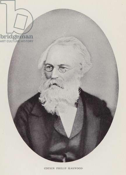 Cousin Philip Harwood (b/w photo)