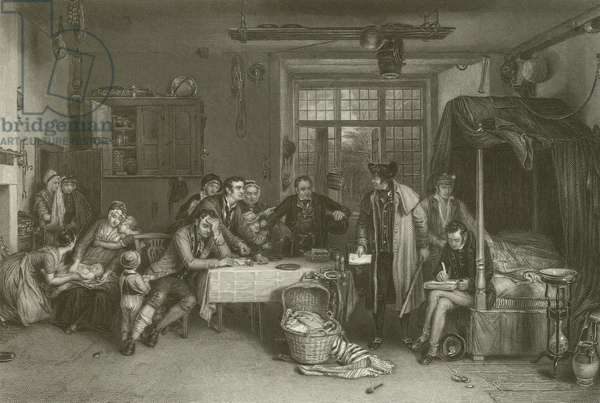 Distraining for Rent (engraving)