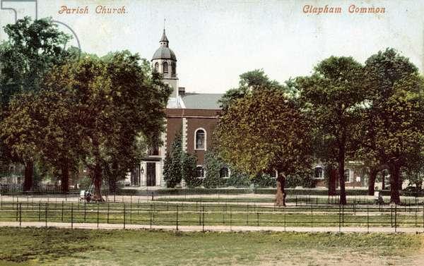 Parish Church, Clapham Common (colour photo)