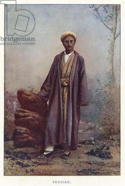 Indian Natives: Persian (coloured photo)