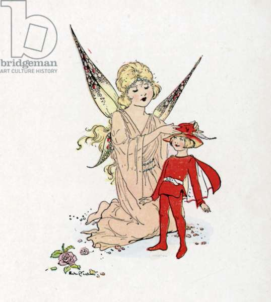 Illustration for J M Barrie's Peter Pan (colour litho)