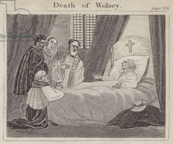 Death of Wolsey (engraving)