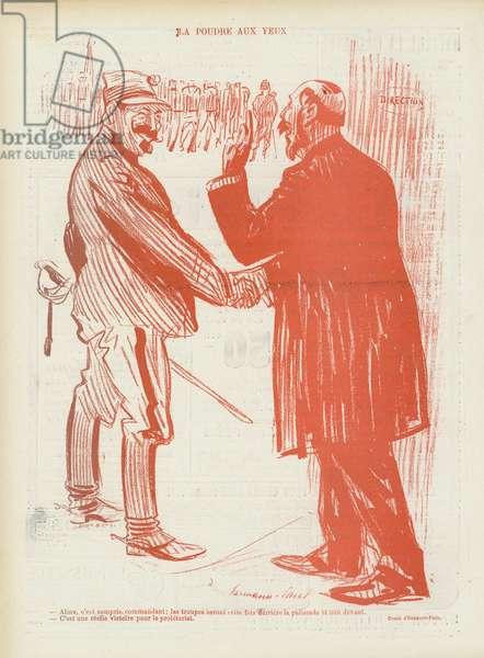 Illustration for Le Rire (litho)
