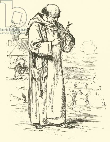 Dom Perignon (engraving)
