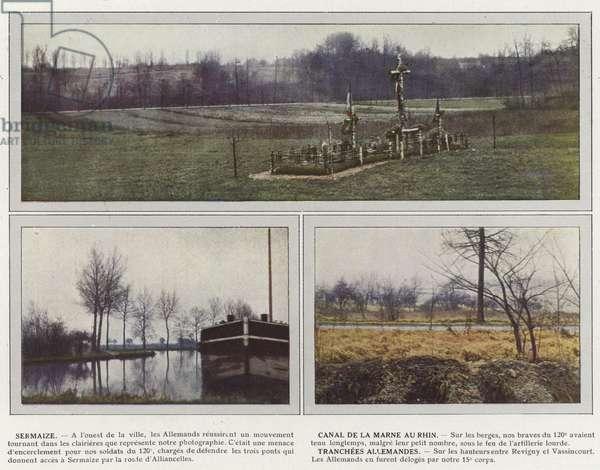 Sermaize, Canal de la Marne au Rhin, Tranchees Allemandes (photo)