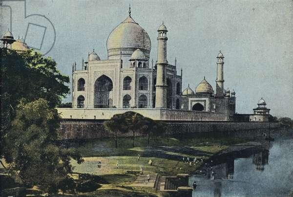 The Taj Mahal, an Imperial Tomb (colour litho)