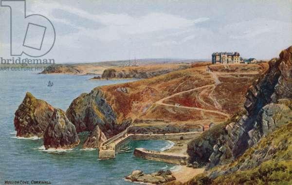 Mullion Cove, Cornwall (colour litho)