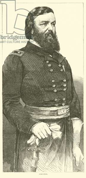 John Pope, July 1862 (engraving)