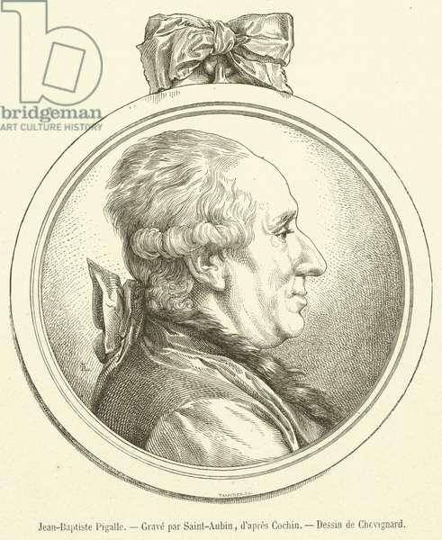 Jean-Baptiste Pigalle (engraving)