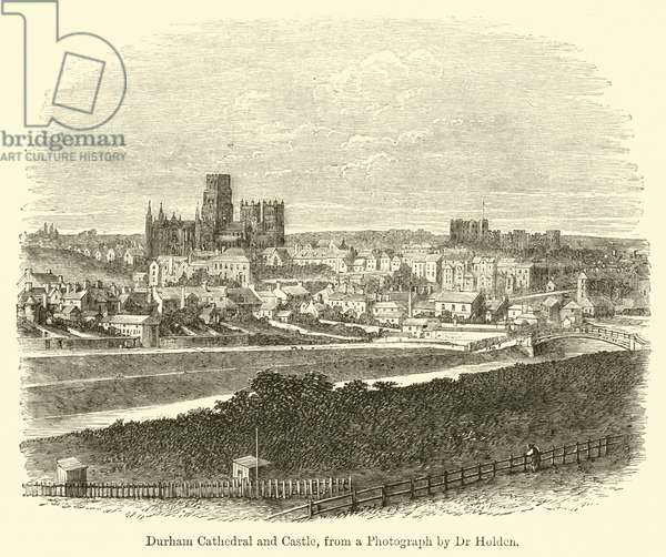 Durham Cathedral and Castle (engraving)