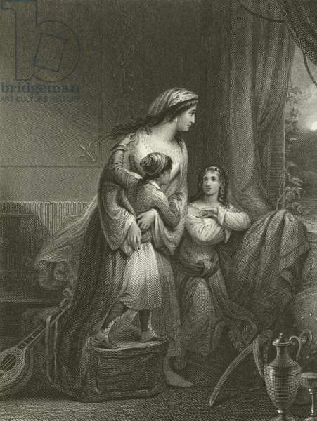 The Greek Mother (engraving)