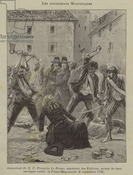 Masonic assassinations (engraving)