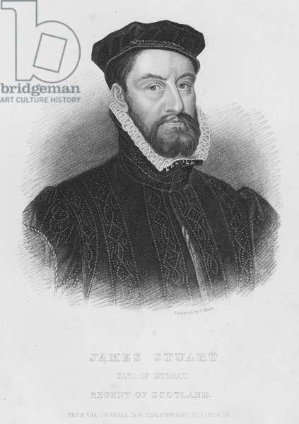 James Stuart, Earl of Murray, Regent of Scotland (engraving)
