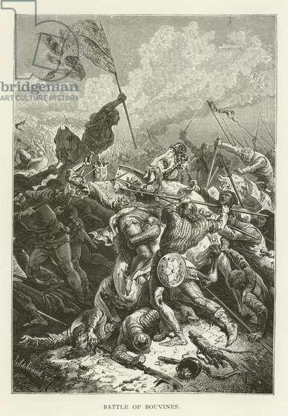 Battle of Bouvines (engraving)
