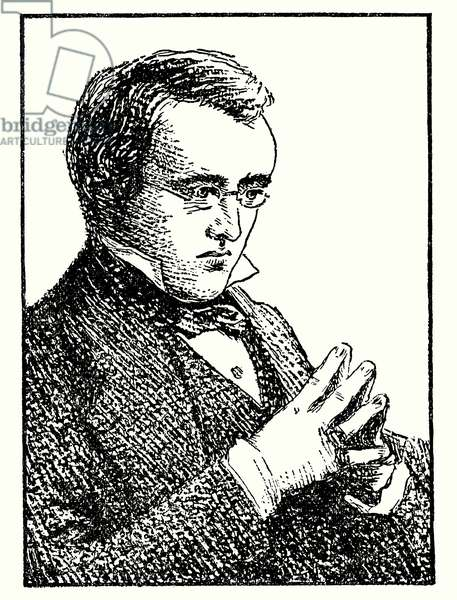 William Wilkie Collins (litho)