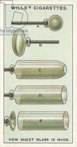 How Sheet Glass is made (chromolitho)