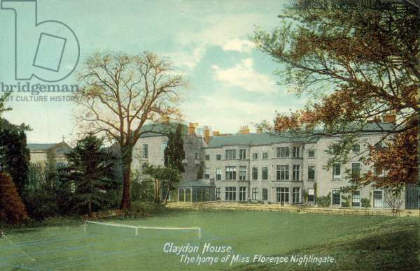 Claydon House, Home of Miss Florence Nightingale (colour photo)