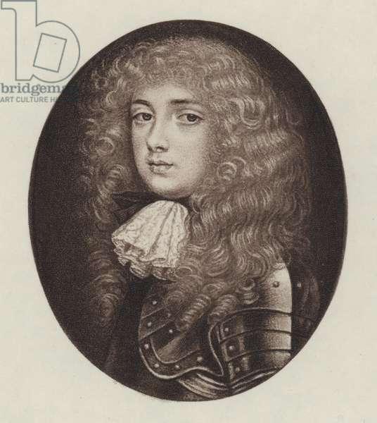 John Churchill, Duke Of Marlborough (litho)